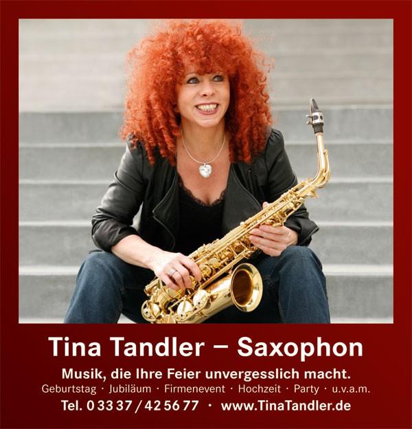 Tina Tandler - Saxophon