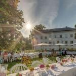 Hotel Schloss Neuhardenberg Ausschnitt Rosengarten
