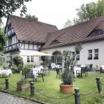 Altes Zollhaus Restaurant mit Garten