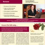 Notarin Carola Bubach Angebot