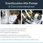 Alte Pumpe Eventlocation - aktuelles Angebot