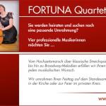 Fortuna Quartett - aktuelles Angebot