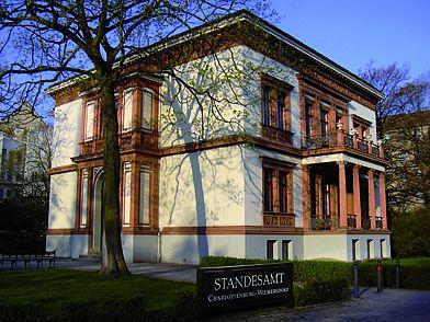 Standesamt Berlin Charlottenburg Villa Kogge