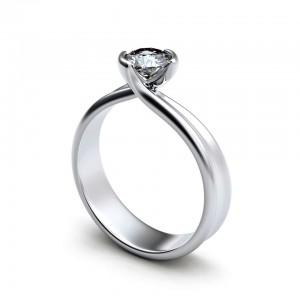 Ehering mit Diamant Foto: © Rozaliya - Fotolia.com