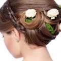 Hochzeitsfrisur der Braut - www.berliner-heiraten.de Bild: © darkfreya - Fotolia.com
