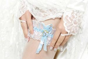 Das Strumpfband der Braut Foto: © inarik - Fotolia.com