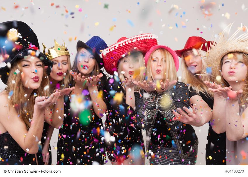 Ein lustiger Junggesellinnenabschied in Verkleidung Foto: Christian Schwier - fotolia.com