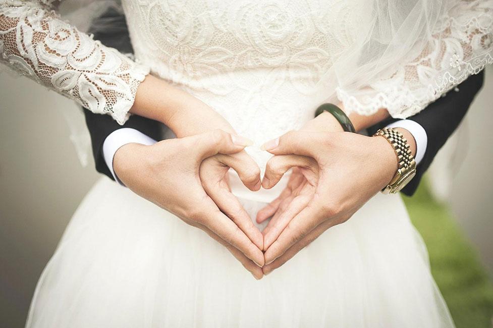 Hochzeitspaar Gastgeschenk